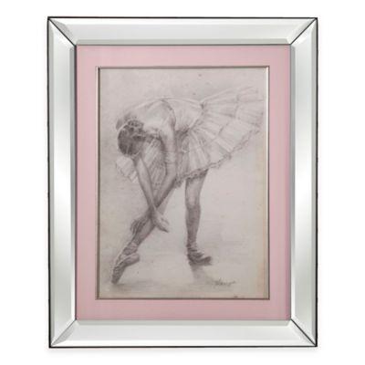 Antique Ballerina Study II Print Framed Wall Art