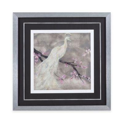 Peacock Serenity I Print Framed Wall Art
