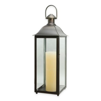 Cambridge Carriage 30-Inch Lantern Candle Holder in Bronze