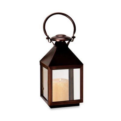 Cambridge Classic 11-Inch Lantern Candle Holder in Bronze