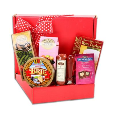 Alder Creek Valentine Gourmet Meat and Cheese Box