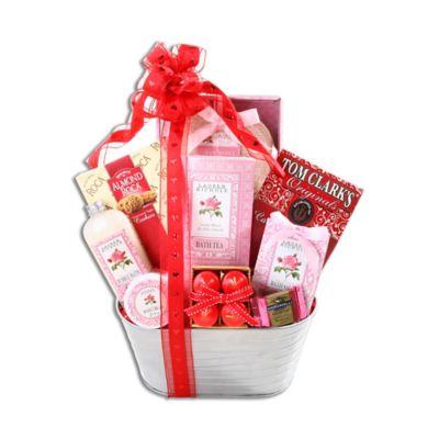 Alder Creek Sweet Scents of Love Gift Basket