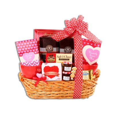 Alder Creek Valentine's Day Breakfast in Bed Gift Basket