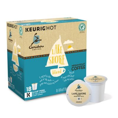Caribou Coffee™ 18-Count Lakeshore Blend Coffee for Single Cup Coffee Makers