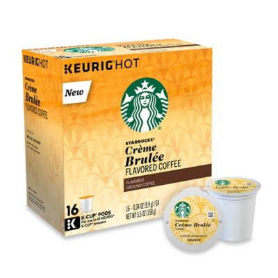 Starbucks® for Keurig 16-Count Crème Brulee Coffee for Single Cup Coffee Makers