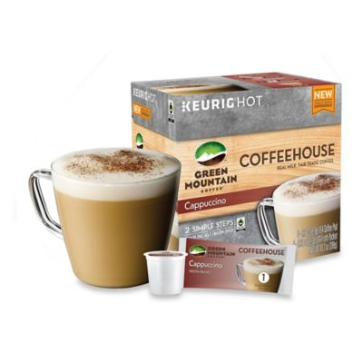 Keurig® K-Cup® Pack 9-Count Green Mountain Coffee® Coffeehouse Cappuccino