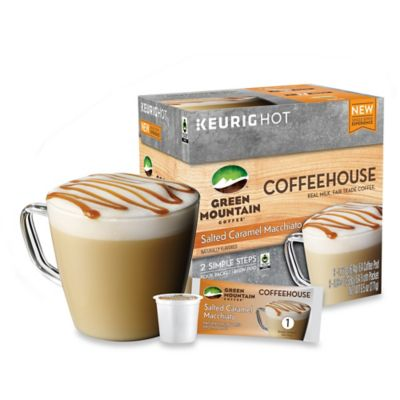 Keurig® K-Cup® Pack 9-Count Green Mountain Coffee® Coffeehouse Salted Caramel Macchiato