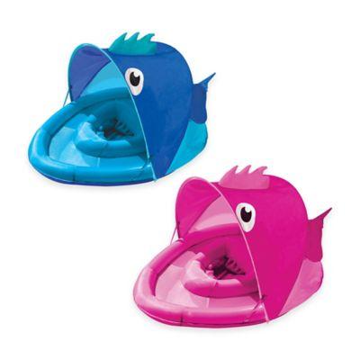 Aqua Leisure® Girls' Fabric Covered Fun Fish Baby Float