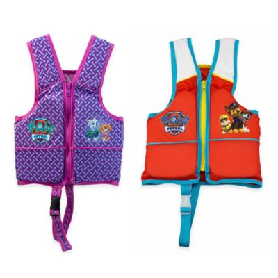 Aqua Leisure® Girls' Paw Patrol Swim Vest in Purple