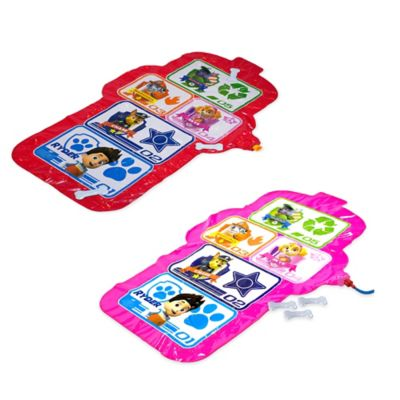 Aqua Leisure® Girls' Paw Patrol Hopscotch Spray Mat