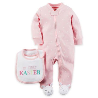carter's® Size 6M Easter Sleep & Play Set in Pink
