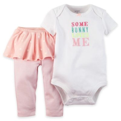 carter's® Size 6M Easter Bodysuit and Tutu Pant Set in Pink