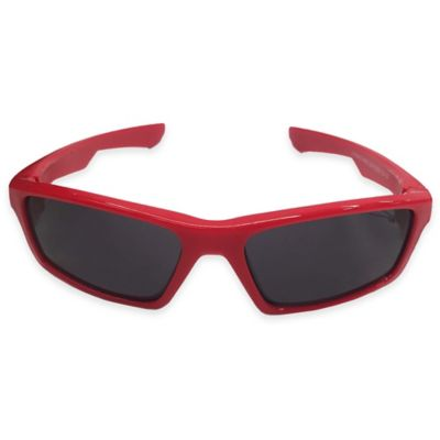 On The Verge Square Sunglasses in Red