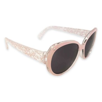 On The Verge Wayfarer Star Sunglasses in Light Pink