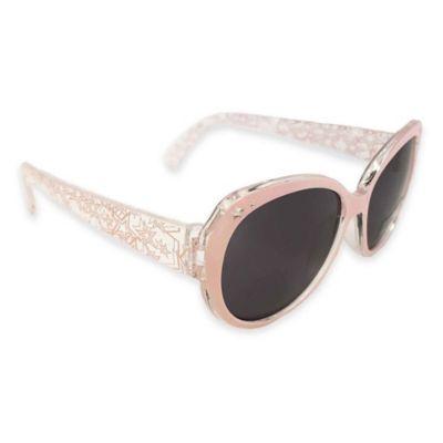 On The Verge Wayfarer Star Sunglasses in Light Pink