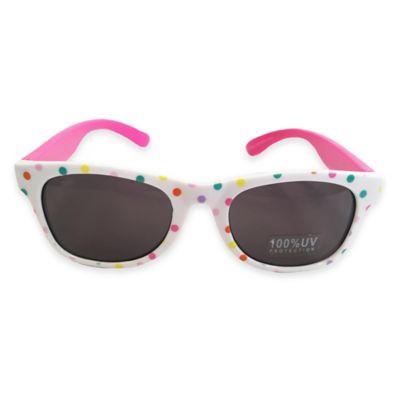 On The Verge Wayfarer Sunglasses in Polka Dot