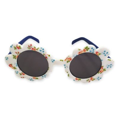 On The Verge Flower Shape Sunglasses in Pink/Daisy