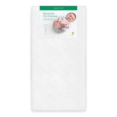 Wovenaire® Newton® Crib Mattress in White