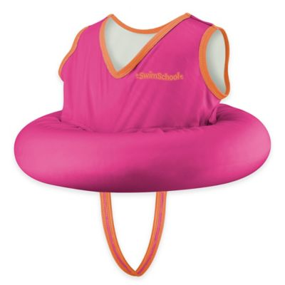 Aqua Leisure® Deluxe Tot Trainer with Safety Strap in Pink