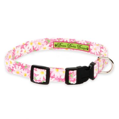 Green Pink Dog Collars
