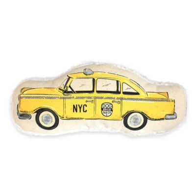 Harry Barker Taxicab Large Plush Pet Toy in Yellow