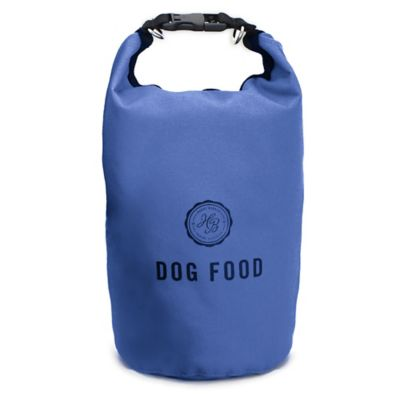 Harry Barker Travel Dog Food Storage Bag in Blue