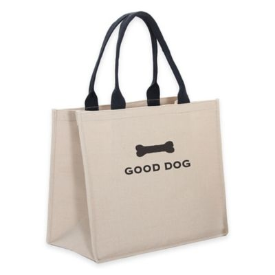"Harry Barker® ""Good Dog"" Tote in Natural"