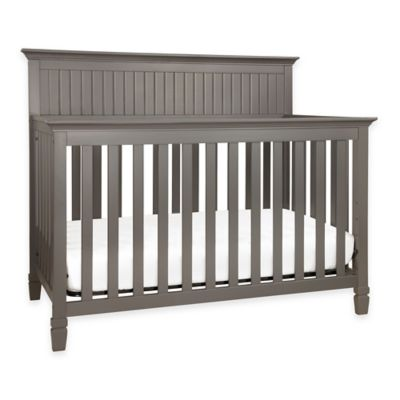 DaVinci Perse 4-in-1 Convertible Crib in Slate