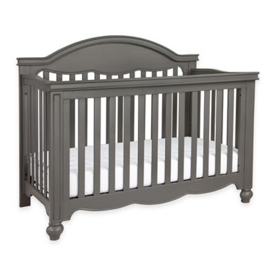 Million Dollar Baby Classic Etienne 4-in-1 Convertible Crib in Manor Grey
