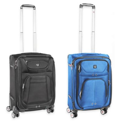 ful® Sequential 20-Inch Expandable Carry On Spinner in Black