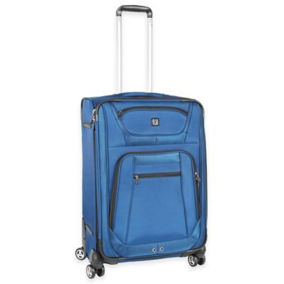 ful® Sequential 25-Inch Expandable Spinner Suitcase in Cobalt