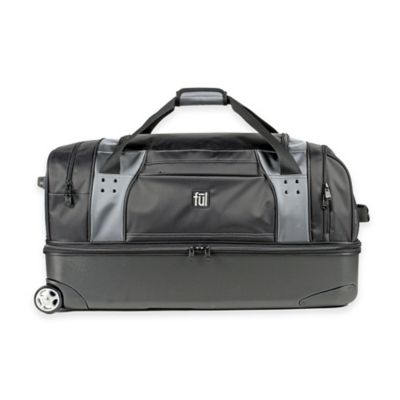 ful® Workhorse 30-Inch Rolling Duffle in Black/Grey