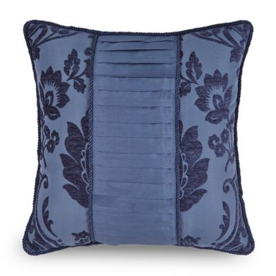Downton Abbey® Aristocrat Pieced Square Throw Pillow in Teal