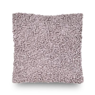 Downton Abbey® Crawley Square Throw Pillow in Mauve
