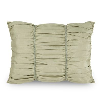 Downton Abbey® Crawley Breakfast Throw Pillow in Light Green