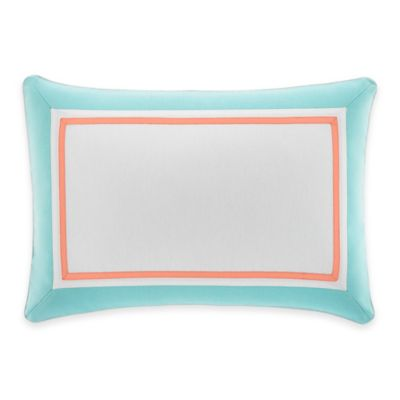 Nautica® Bell Point Breakfast Throw Pillow in White
