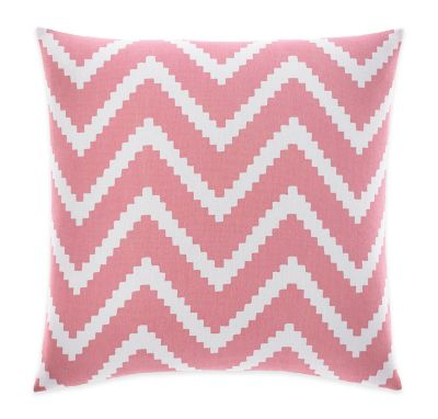 Nautica® Bell Point Square Throw Pillow in Pink