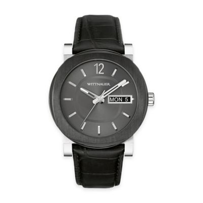 Gunmetal Dial Watch