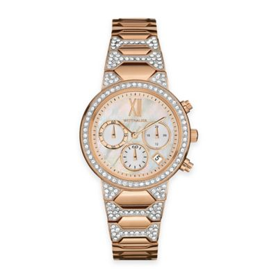 Water Resistant Crystal Watch