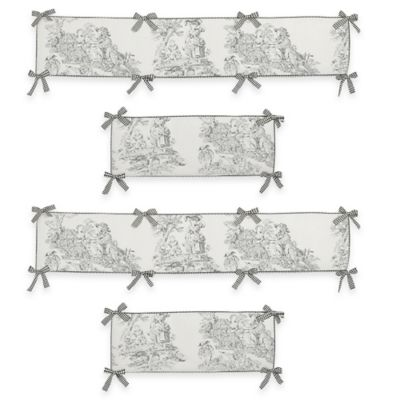 Toile Crib Bedding