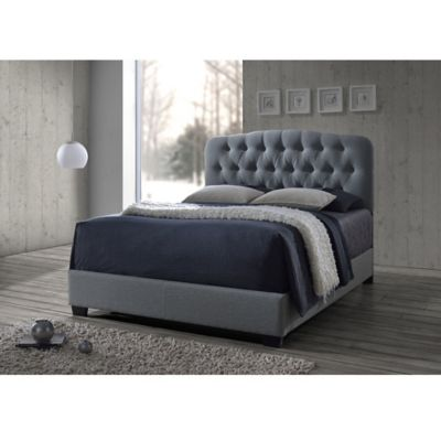 Baxton Studio Upholstered Bed