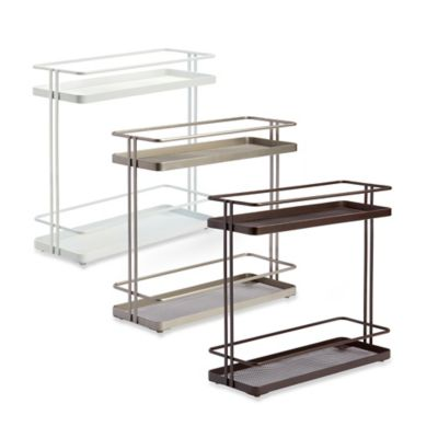 .ORG 2-Tier Bath Shelf in Nickel