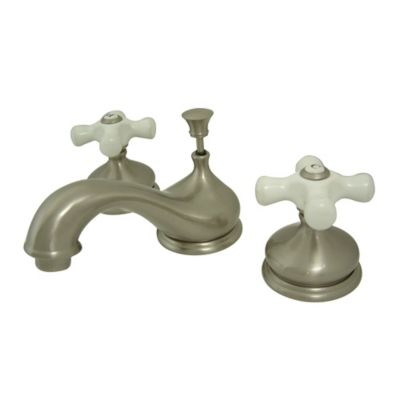Kingston Brass Heritage 2-Handle Widespread Bathroom Faucet in Oil Rubbed Bronze