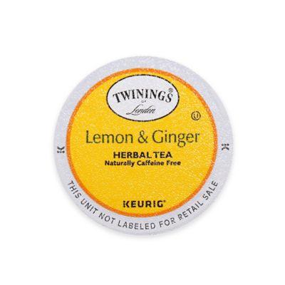 Keurig® K-Cup® Pack 18-Count Twinings of London® Lemon & Ginger Herbal Tea