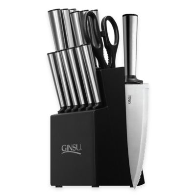 Ginsu Koden 14-Piece Knife Block Cutlery Set