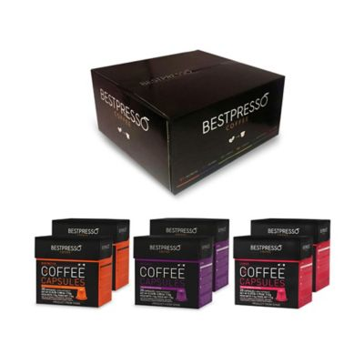 Bestpresso 120-Count Intenso Variety Pack Nespresso® Compatible Gourmet Coffee Capsules