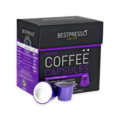 120-Count Intenso Nespresso® Compatible Gourmet Coffee Capsules