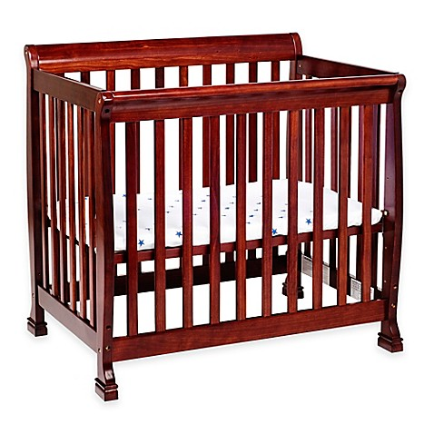 Davinci Kalani 2 In1 Convertible Mini Crib In Cherry