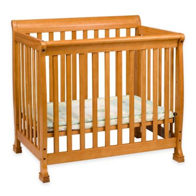 Baby Furniture > DaVinci Kalani Mini Crib in Honey Oak
