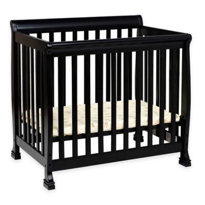 Baby Furniture > DaVinci Kalani Mini Crib in Ebony